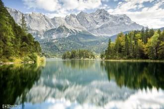 Eibsee mit Zugspitze
